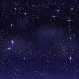 Fototapety Night starry sky