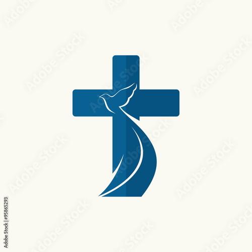 Church logo cross and dove buy photos ap images detailview church logo cross and dove thecheapjerseys Gallery