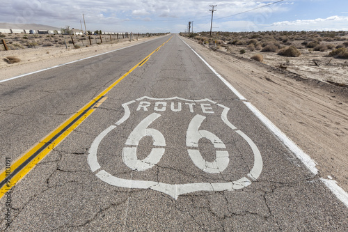 Poster Old Route 66