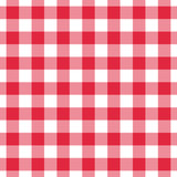 Plaid vector gingham seamless pattern. Isolated, easy editable. - 95889836