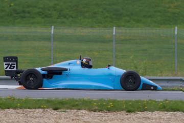 blue formula in the Masaryk circuit Brno