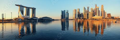 Poster Singapore skyline