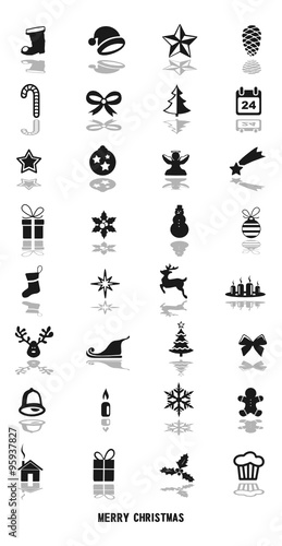 weihnachten symbole stock image and royalty free vector files on pic 95937827. Black Bedroom Furniture Sets. Home Design Ideas