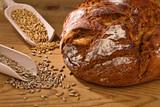 Frischer Brotlaib