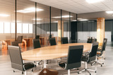 Modern conference room with furniture - 96000467