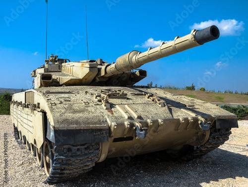 Izrael stworzył główny czołg bojowy Merkava Mk III