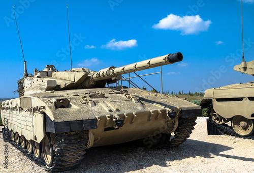 Izrael stworzył główny czołg bojowy Merkava Mk II
