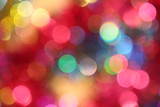Fototapety Colored blur defocused background with bokeh effect