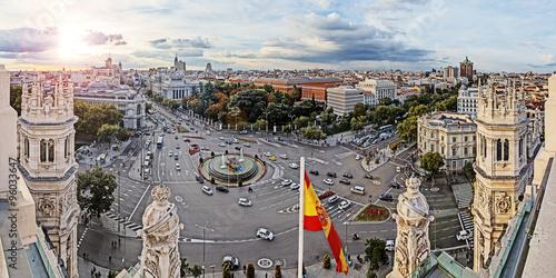 Poster Madrid Madrid, Plaza de Cibeles
