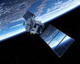 Satellite Orbiting Earth - Fine Art prints