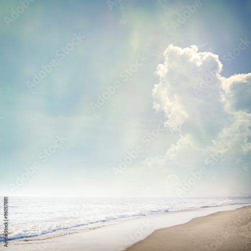 beach background - 96057881