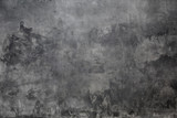 Fototapeta Kamienie - gray background wall made on real plaster © habrda