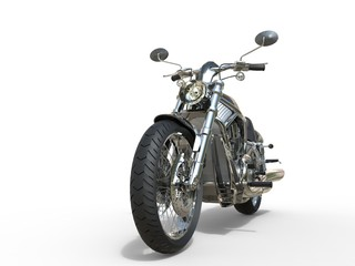 Powerful Vintage Motorcycle © Dimitrius