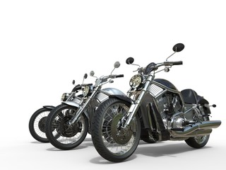 Three awesome motorcycles © Dimitrius