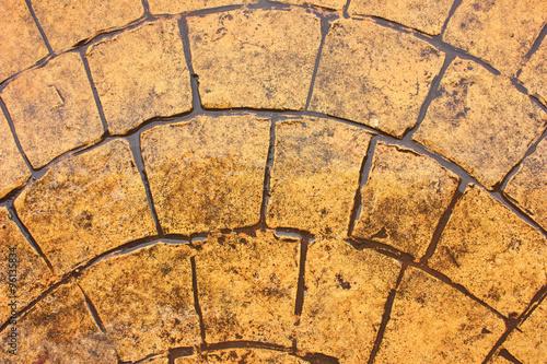 In de dag Stenen marble floors