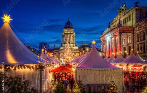 Poster Weihnachtsmarkt Berlin
