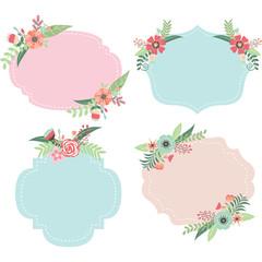 Wedding Flower Frames
