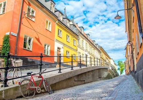Poster Rue à Stockholm, Suède