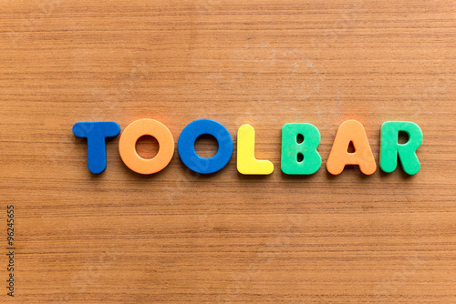 Poster Toolbar