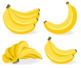 Fresh banana fruits