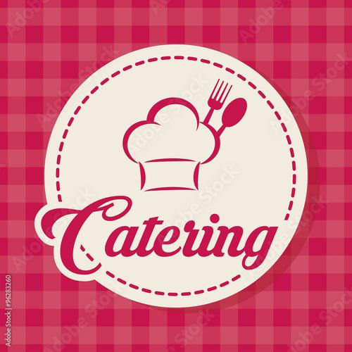 Naklejka Gastronomy and restaurant