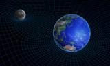 Space-time continuum curvature