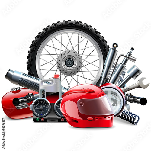 Vector Motorcycle Spares Concept