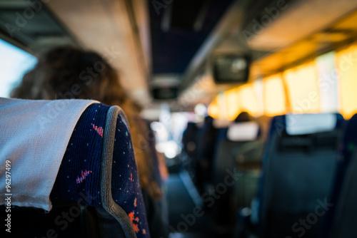 Fototapeta Bus journey Florence