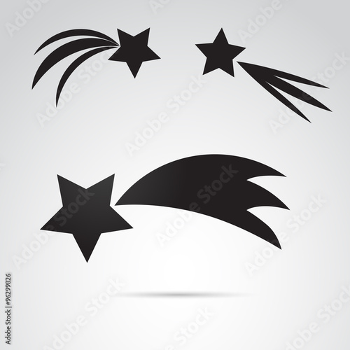 Bethlehem star vector icon.