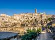 Historic town of Matera at sunset, Basilicata, Italy