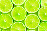 Fototapety Lime slices background