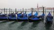 Постер, плакат: Gondole a Venezia