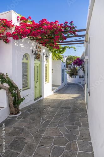 Street in Sifnos island, Cyclades, Greece