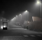 Suburban bus stop - 96411607