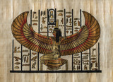 ancient Egyptian parchment