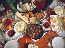 "Постер, картина, фотообои ""Thanksgiving Meal"""