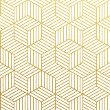 Fototapety Vector geometric gold pattern