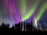 Aurora Borealis (Northern lights) in Alberta, Canada