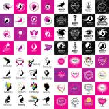 set of logos Beauty