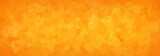 abstract mosaic background of orange gradient triangles - 96517407