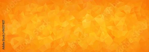 abstrakcyjne tło mozaiki pomarańczowe trójkąty gradientowe