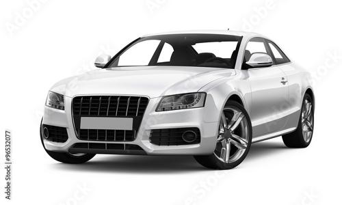 White spors car - 96532077