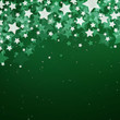 Vector Illustration of a Christmas Background with Stars