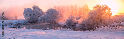 Papiers peints Morning Glory Winter sunrise