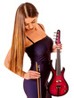 Постер, плакат: Music performers girl violinist