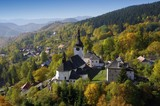 Panorama in Spania dolina resort, Slovakia