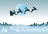 Christmas Card. Christmas Illustration. Christmas Background