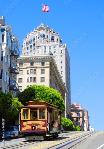 Poster San Francisco USA Street Car