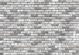 brick wall texture or background, gray - 96615467