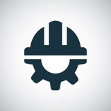 helmet gear icon